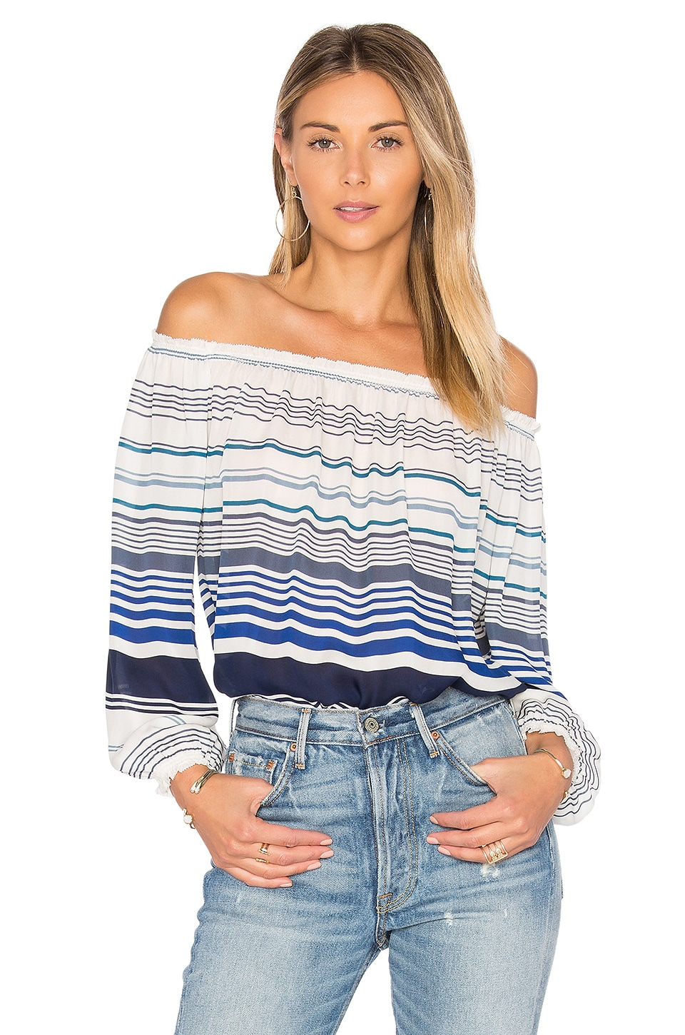 Joie Bamboo Top in Harbor Blue