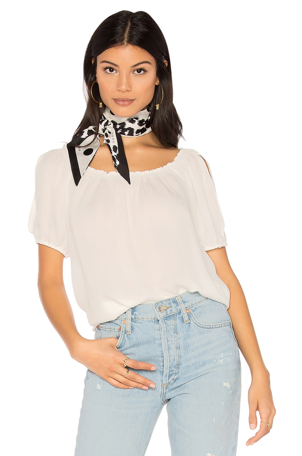 Joie Kendal Top in Porcelain