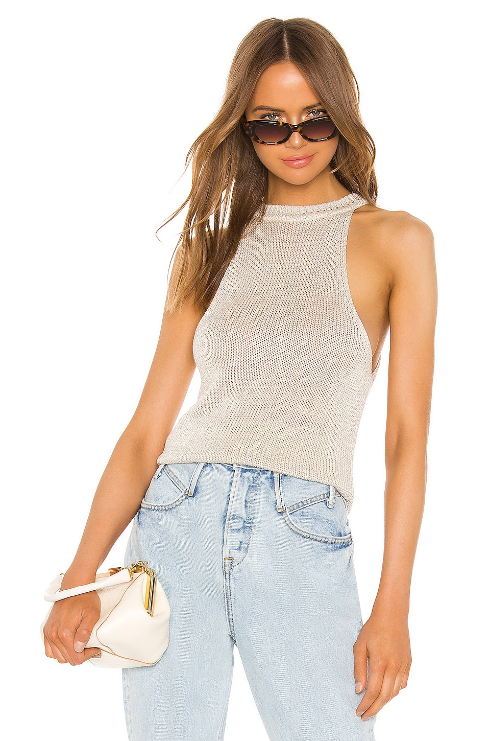 Joie Cam Tank in Luster