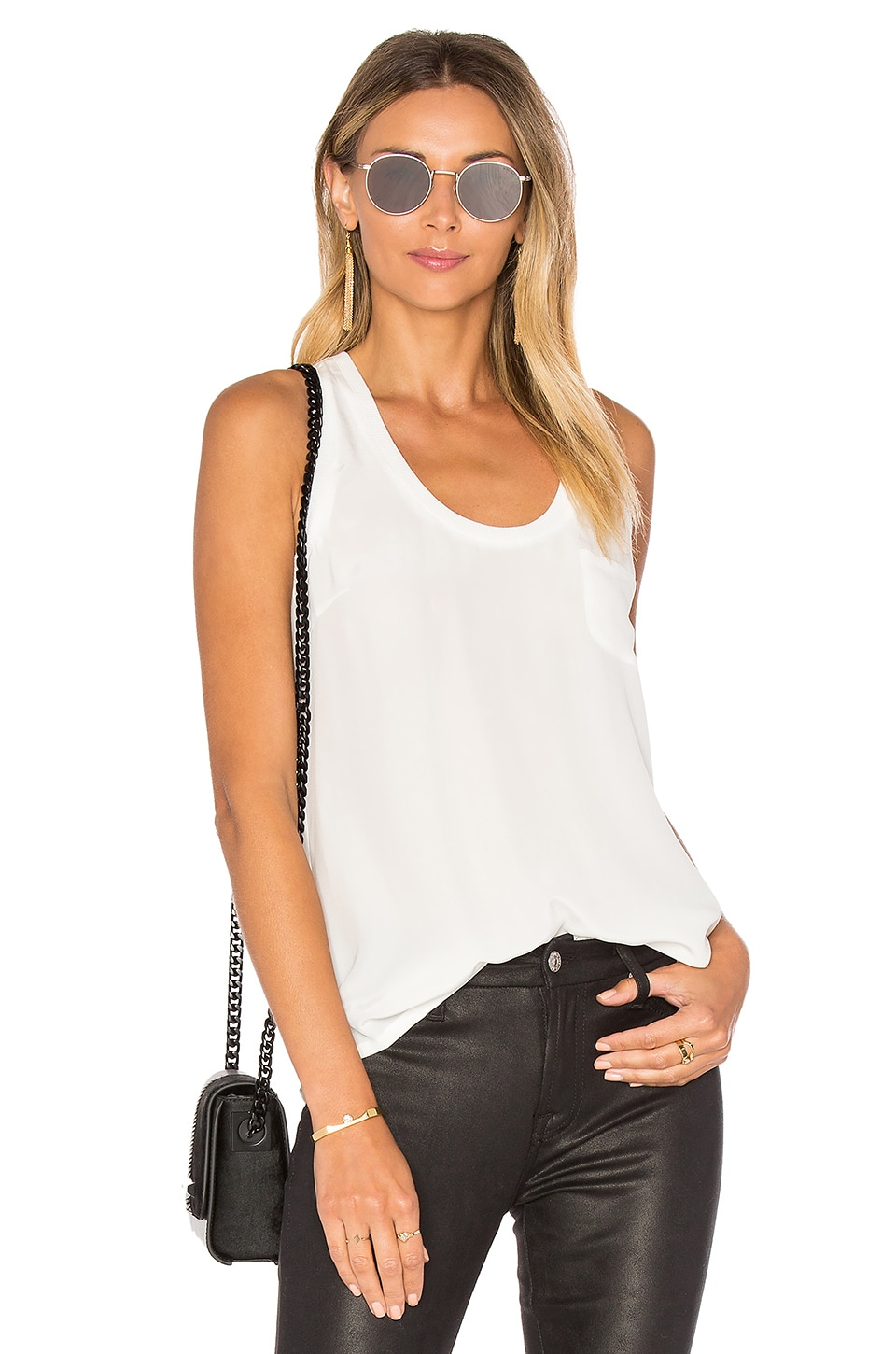 Joie Alicia Tank in Porcelain