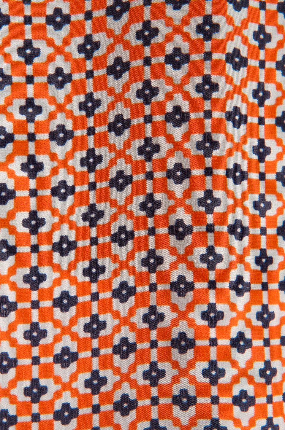 Joie Jira Mini Geo Print Blouse in Carrot