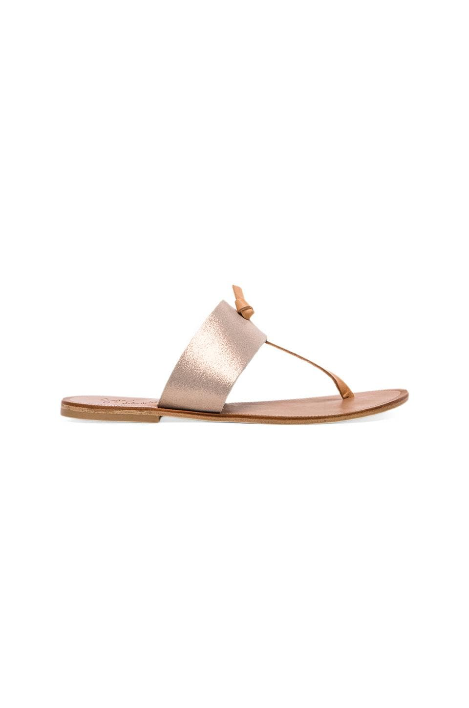 Joie Nice Sandal in Rose Gold