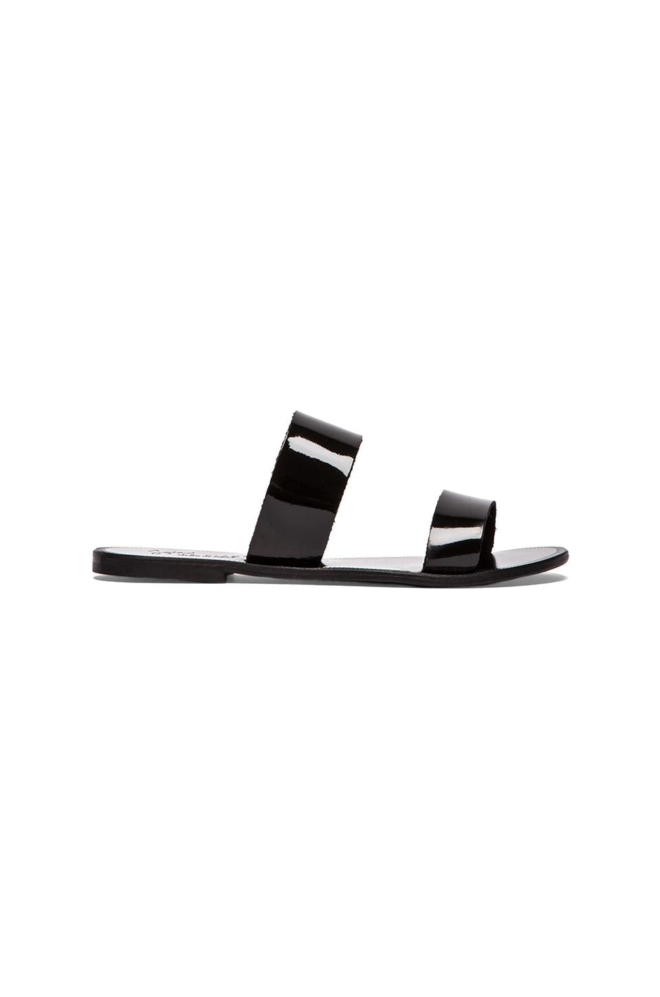 Joie A La Plage Sable Flat in Black & Black