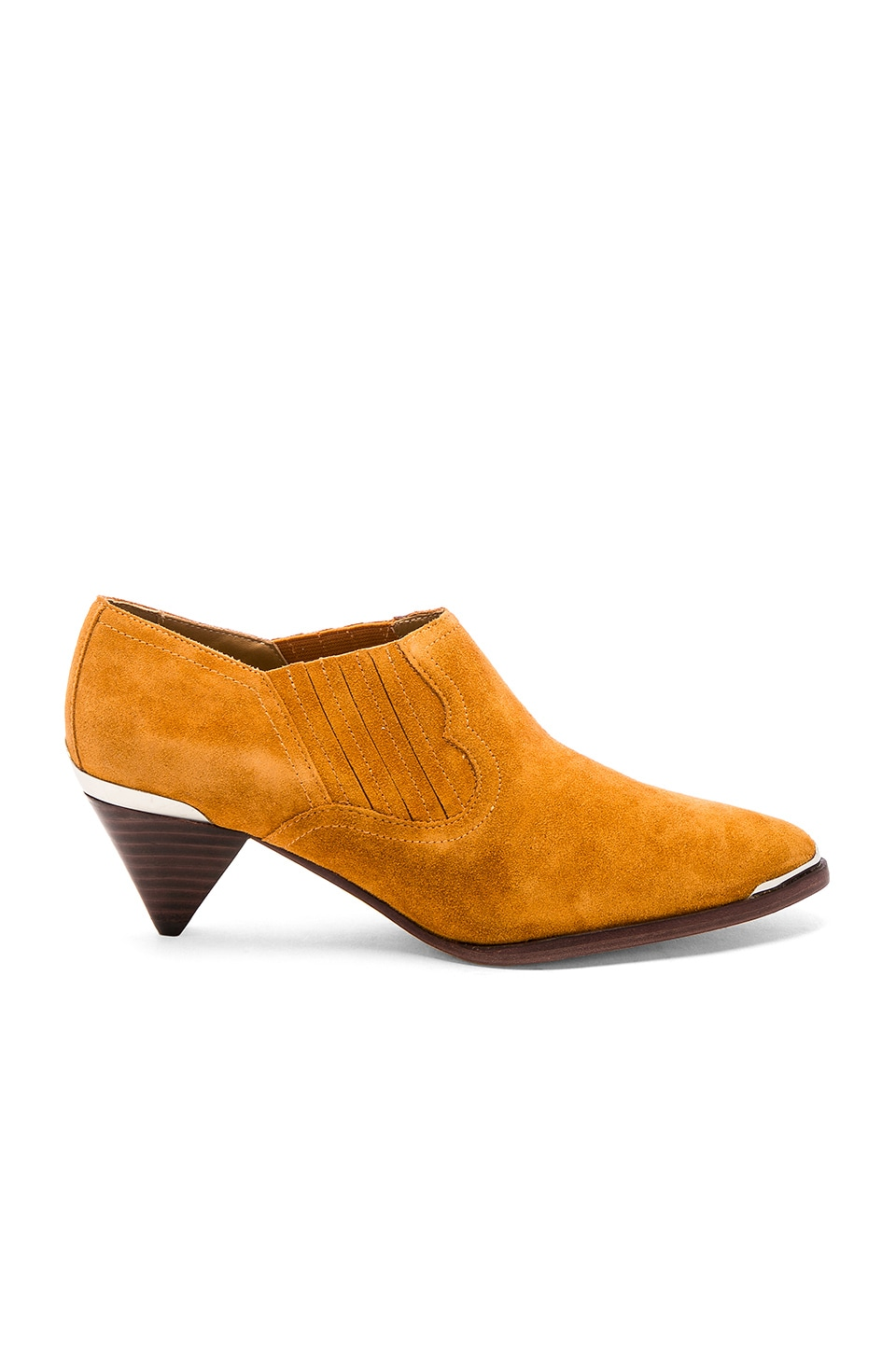 Joie Baler Bootie in Mustard Yellow