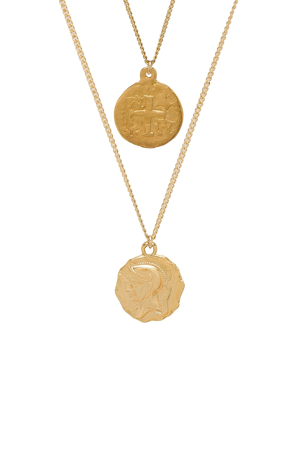 joolz by Martha Calvo Warrior Coin Set in Gold