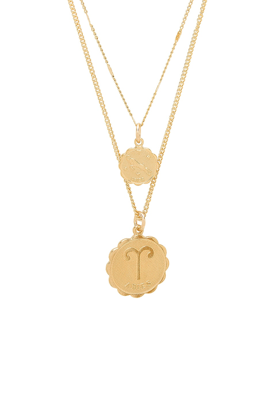 market products zodiac flea necklace girl