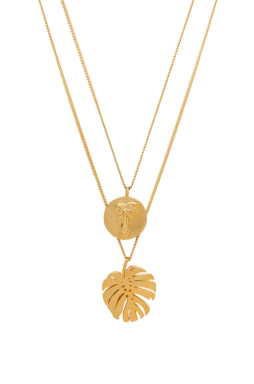 joolz by Martha Calvo Palm Springs Necklace in Gold