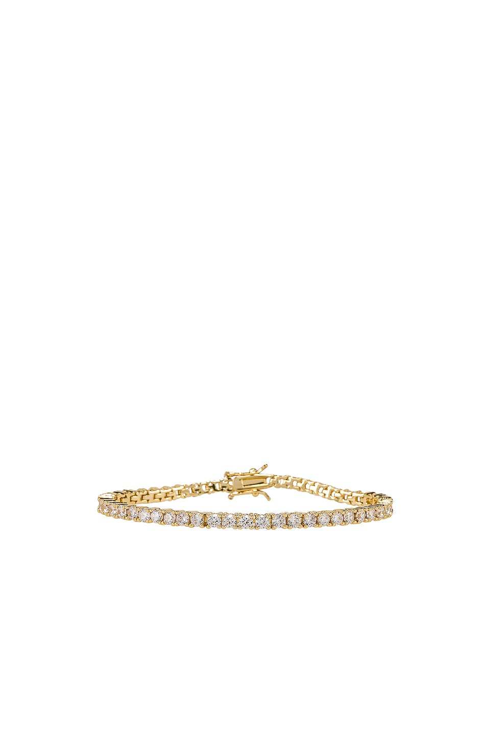 joolz by Martha Calvo BRACELET CLEAR TENNIS