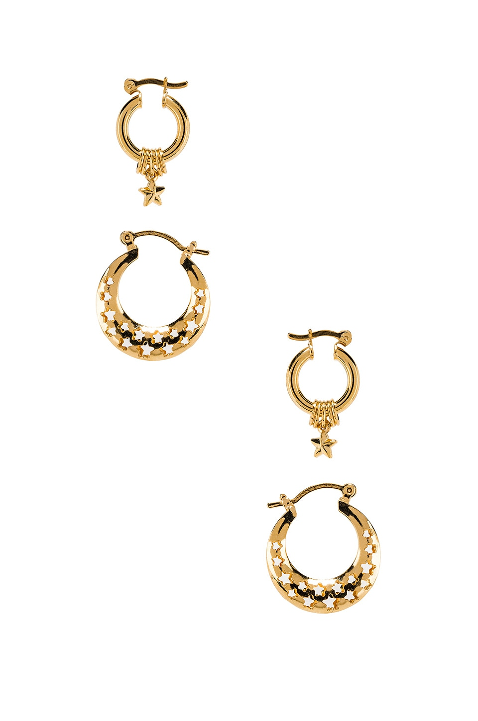 joolz by Martha Calvo Celestial Earring Set in Gold