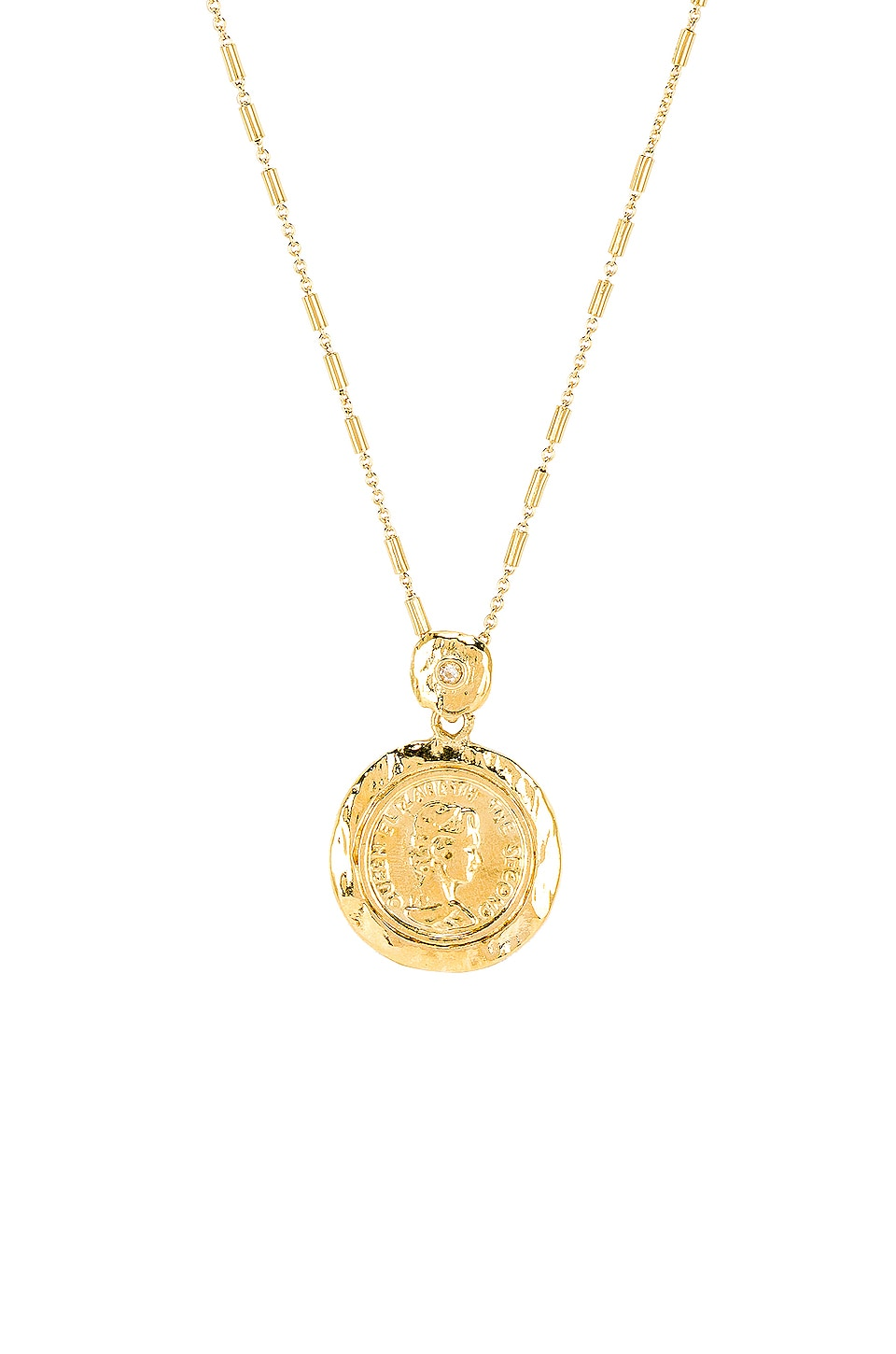 joolz by Martha Calvo Tesori Coin Necklace in Gold