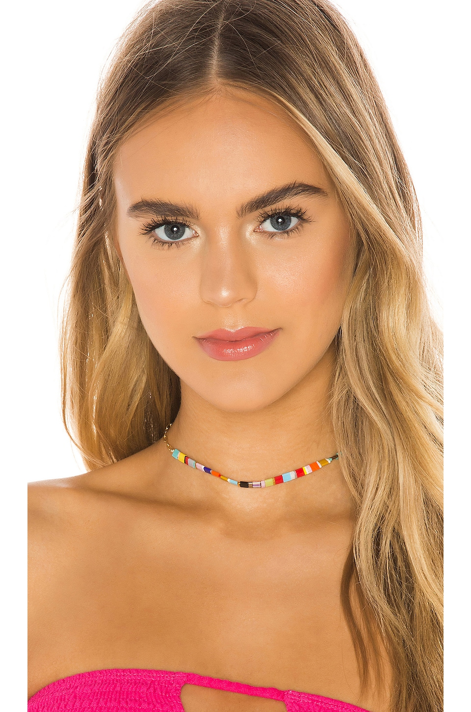 joolz by Martha Calvo The Chikletz Choker in Multi