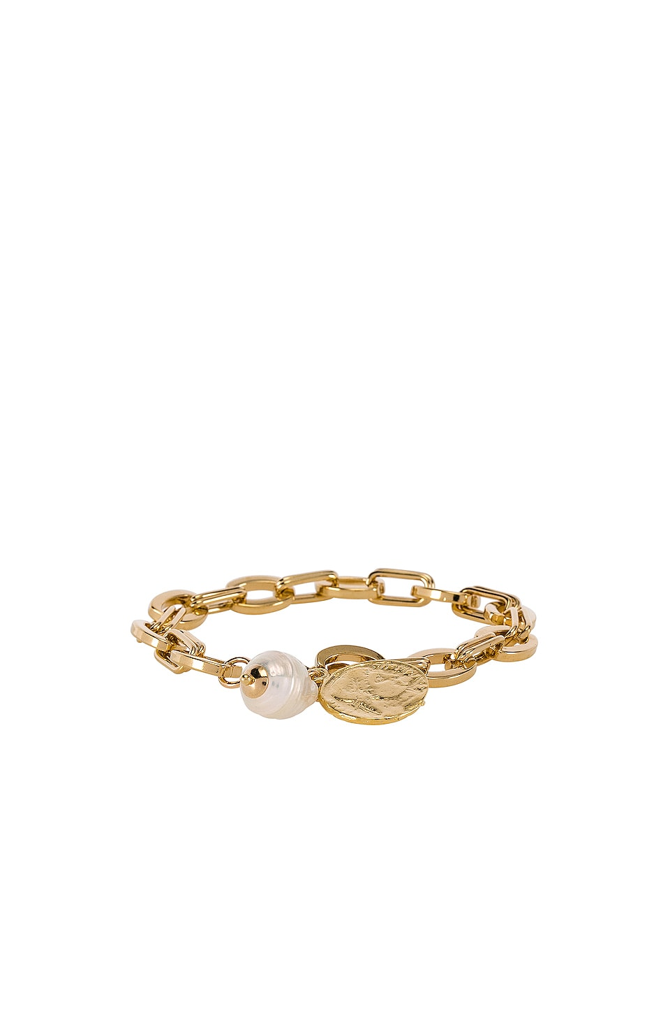joolz by Martha Calvo The Delos Charm Bracelet in Gold
