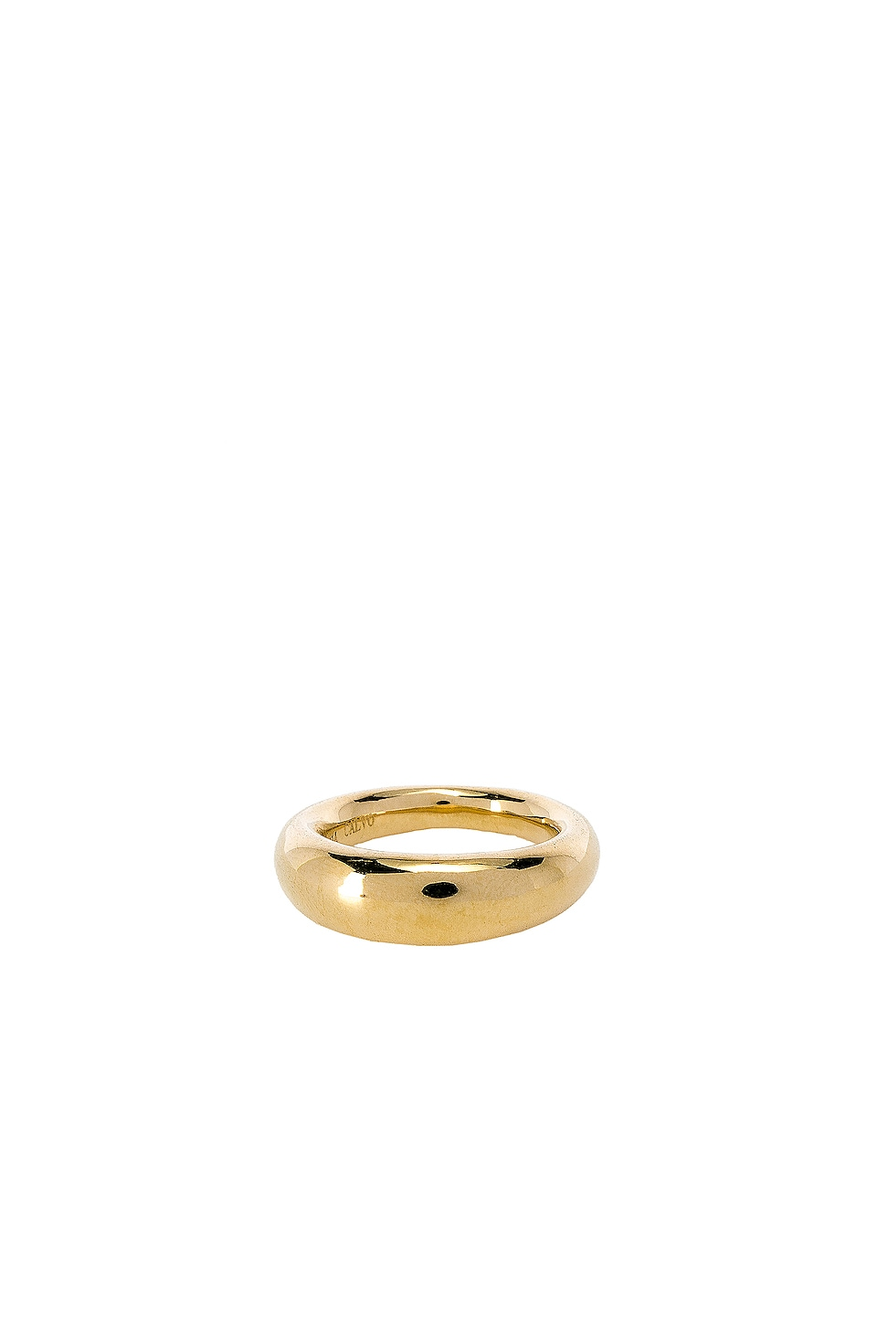 joolz by Martha Calvo Tube Ring in Gold