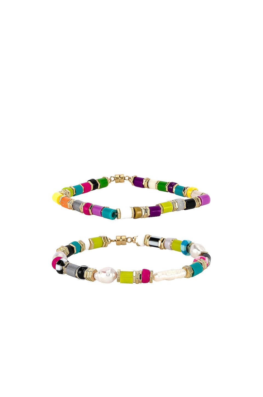 joolz by Martha Calvo Sobe Bracelet Set in Multi
