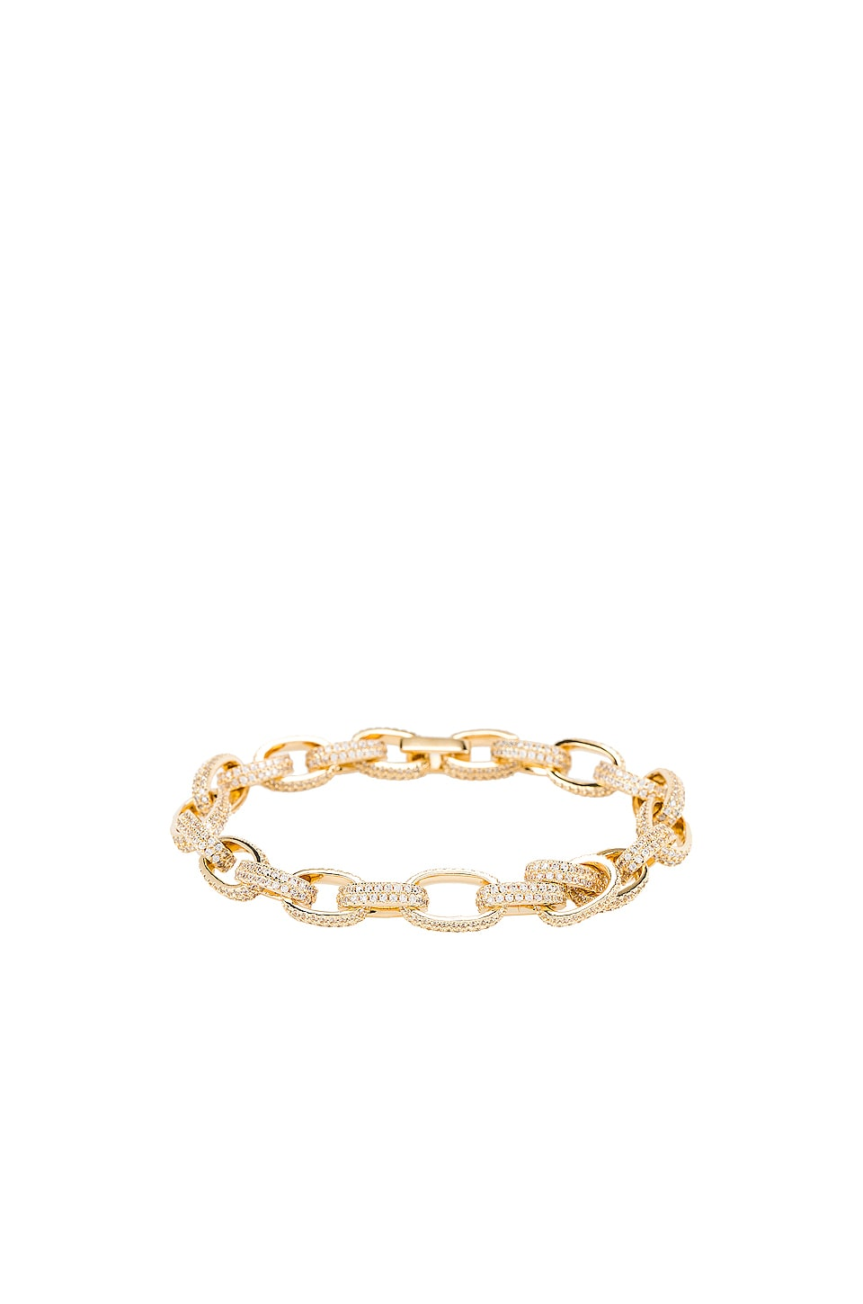 joolz by Martha Calvo Pave Celine Bracelet in Gold