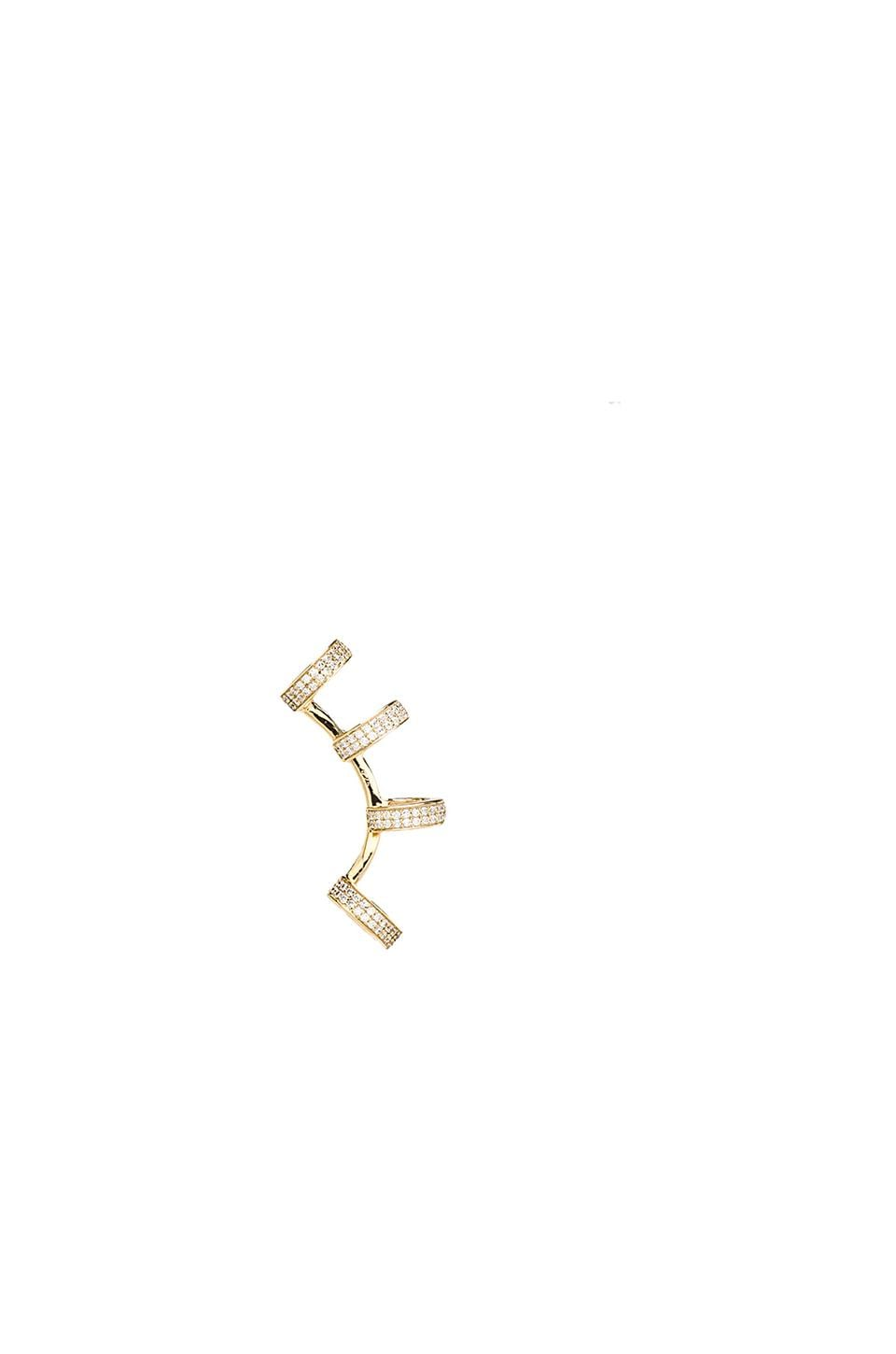 joolz by Martha Calvo Earcuff in Gold