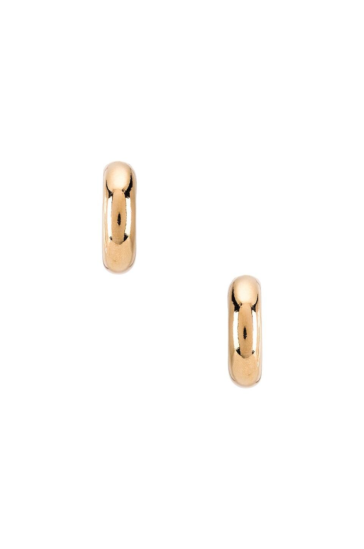 joolz by Martha Calvo Donut Hoop Earrings in Gold