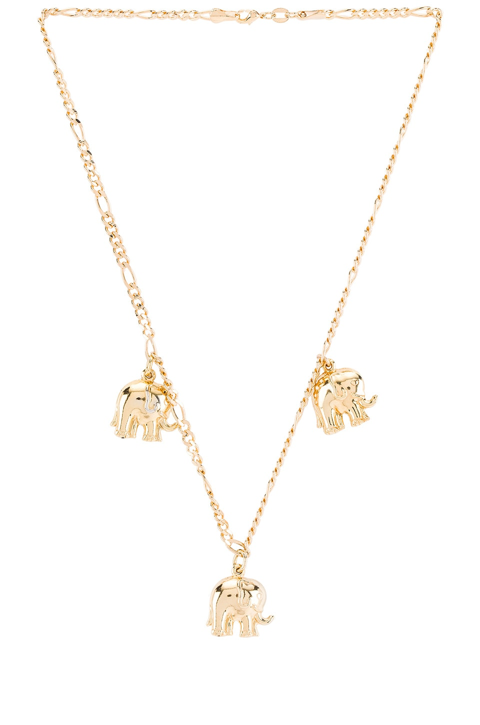 joolz by Martha Calvo Just My Luck Necklace in Gold