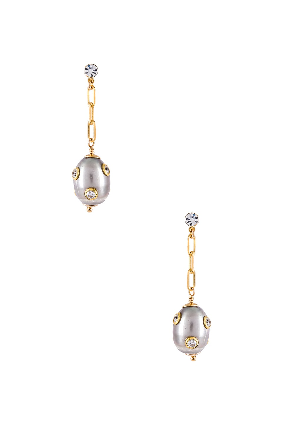 joolz by Martha Calvo Marseilles Drop Earrings in Gold