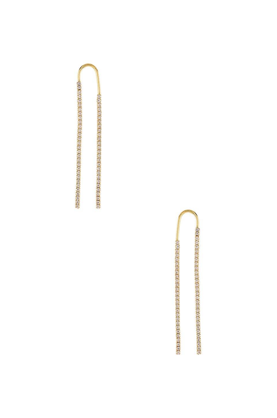 joolz by Martha Calvo Over The Top Earrings in Gold