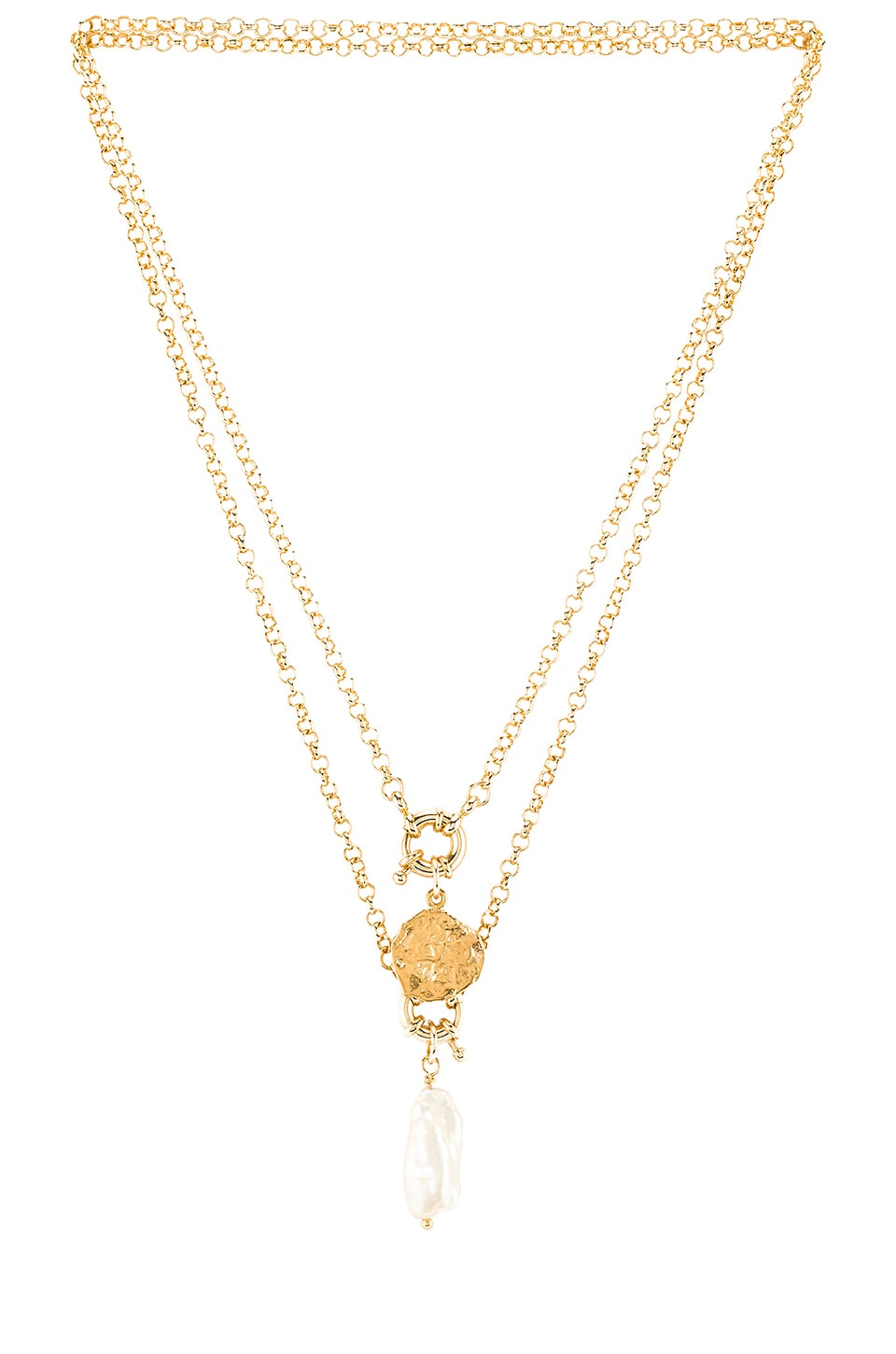 joolz by Martha Calvo Element Necklace Set in Gold