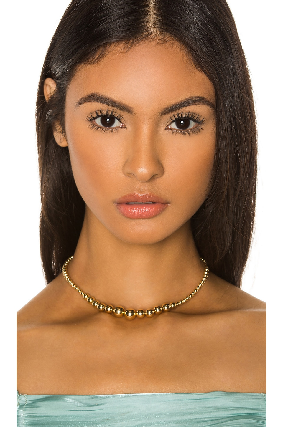 joolz by Martha Calvo Roll With It Choker in Gold