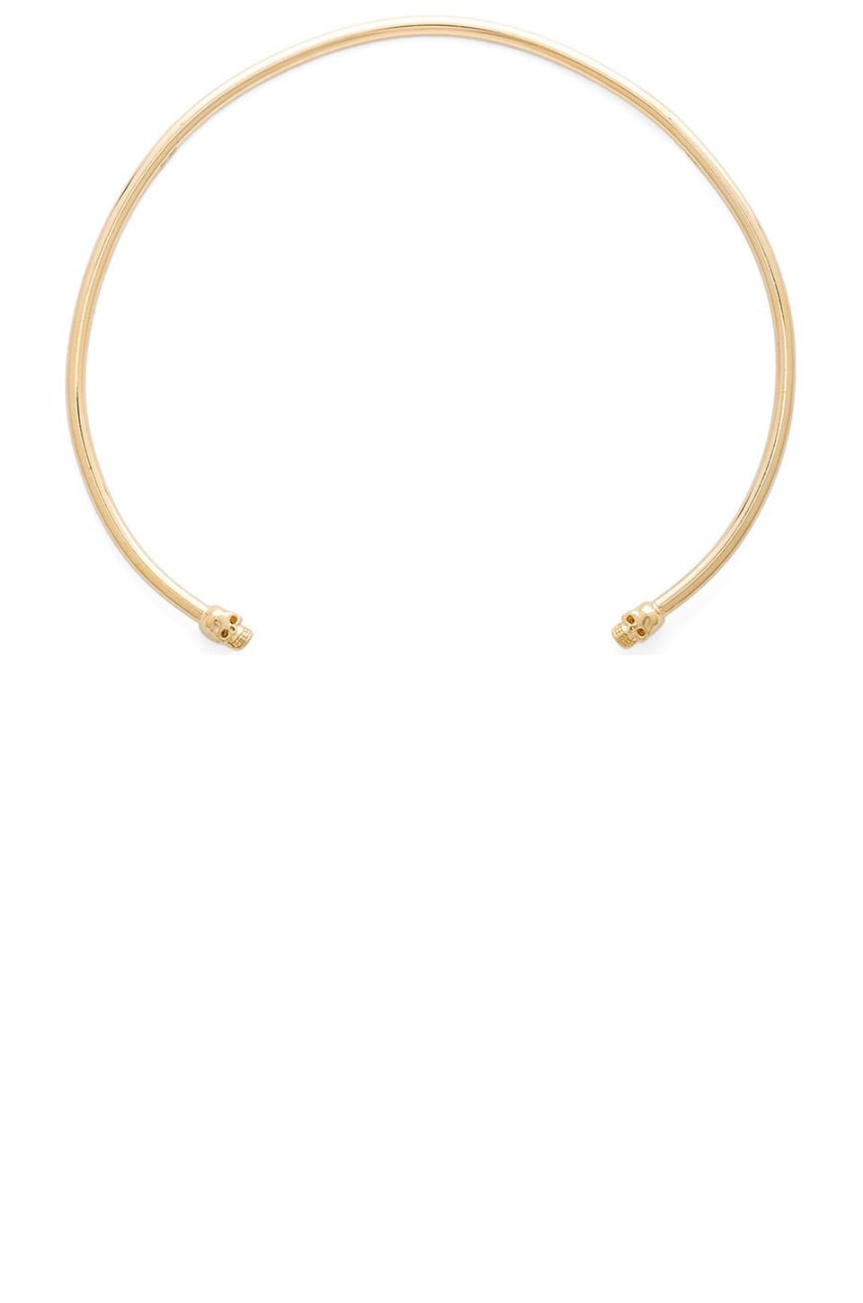 joolz by Martha Calvo Skully Choker in Gold