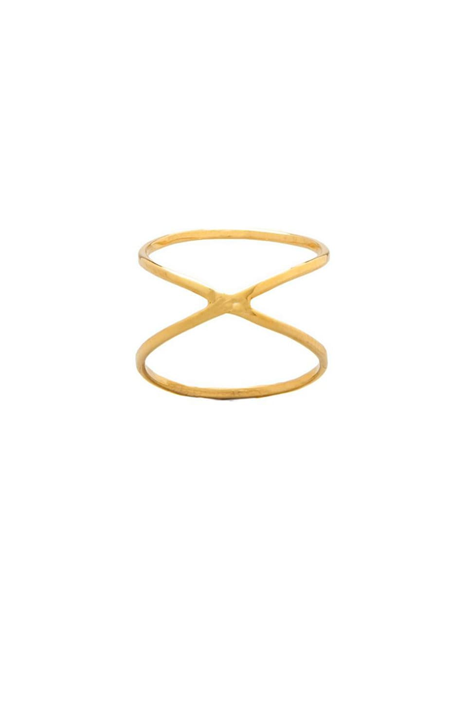 joolz by Martha Calvo X Ring en Gold