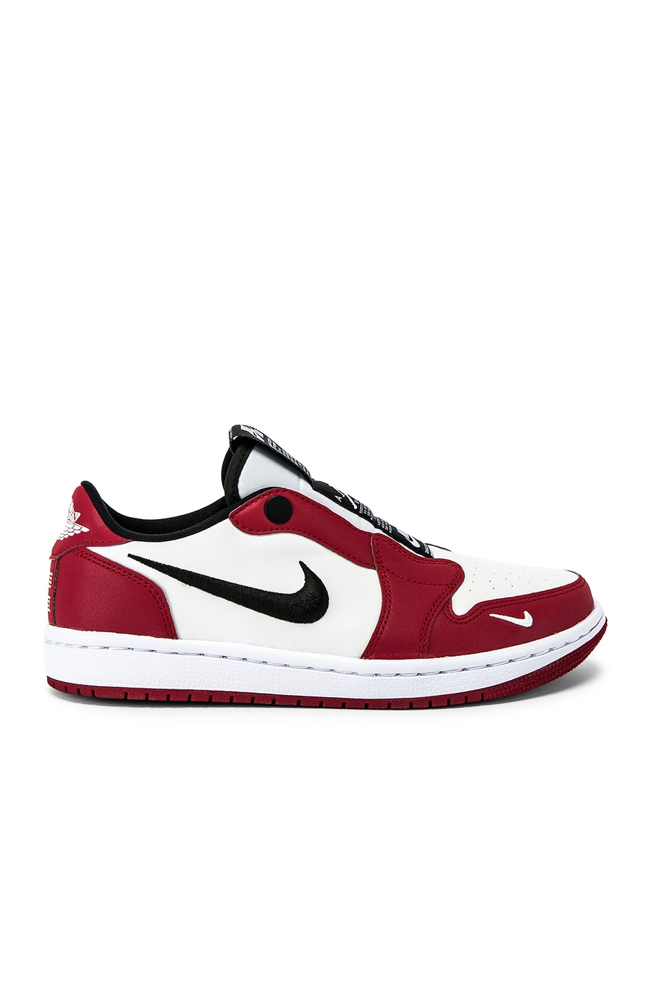 Jordan AJ1 Slip Chicago Sneaker in Red & White