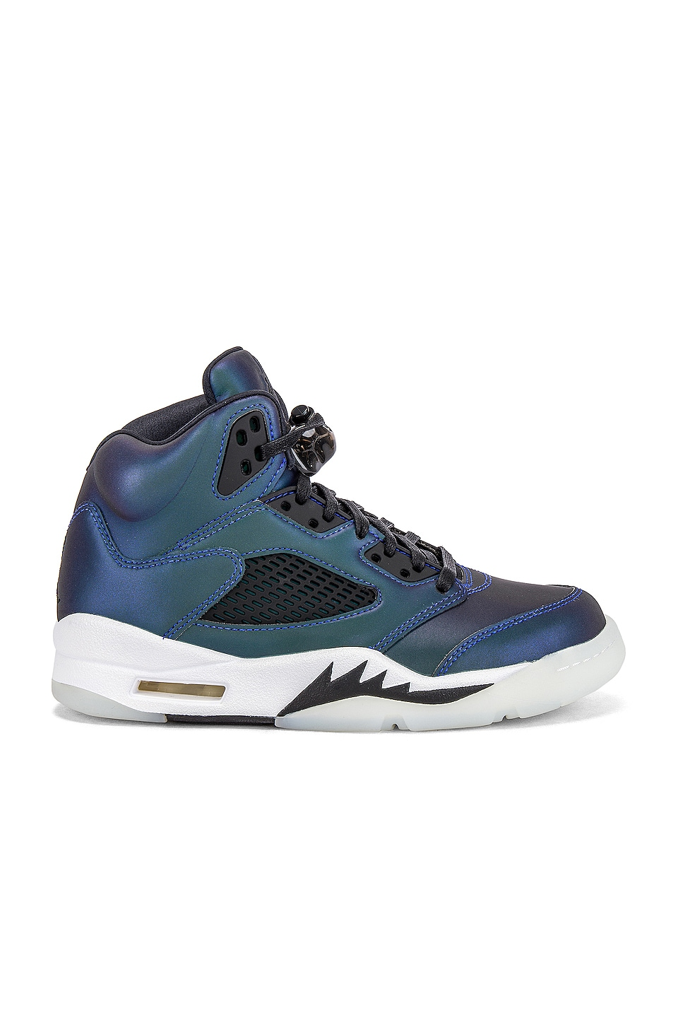 Jordan Air Jordan 5 Retro Sneaker in Oil Grey, Black & White