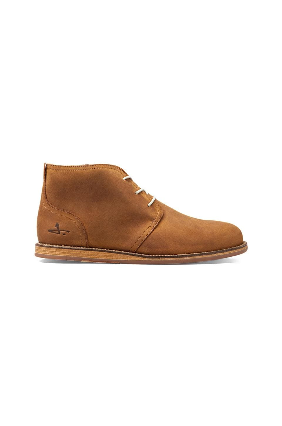 J SHOES Realm en Mid Brown