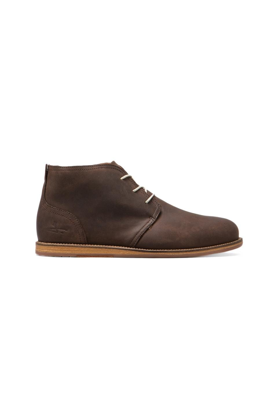J SHOES Realm in Dark Brown