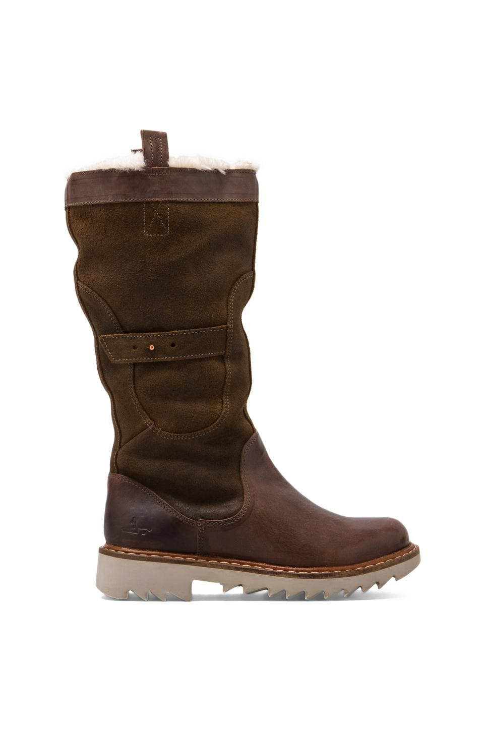J SHOES Husky Fur 2 Boot in Fango/Mustang
