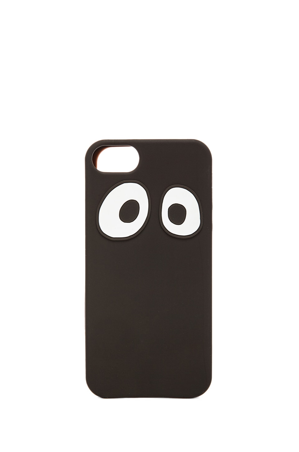 Jack Spade Googly Eyes Soft iPhone 5 Case in Black