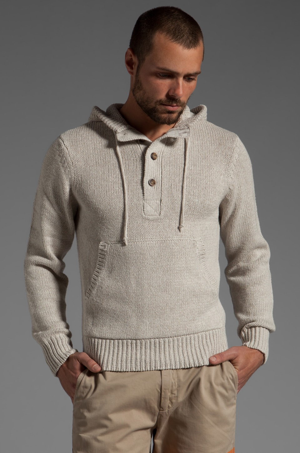 Jack Spade Baker Hooded Sweater