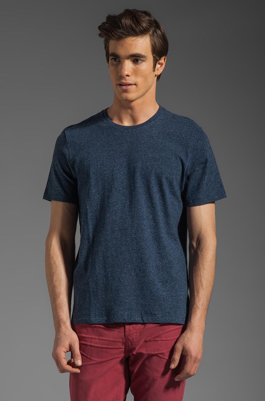 Jack Spade Kinsley Crewneck T-Shirt in Heather Navy
