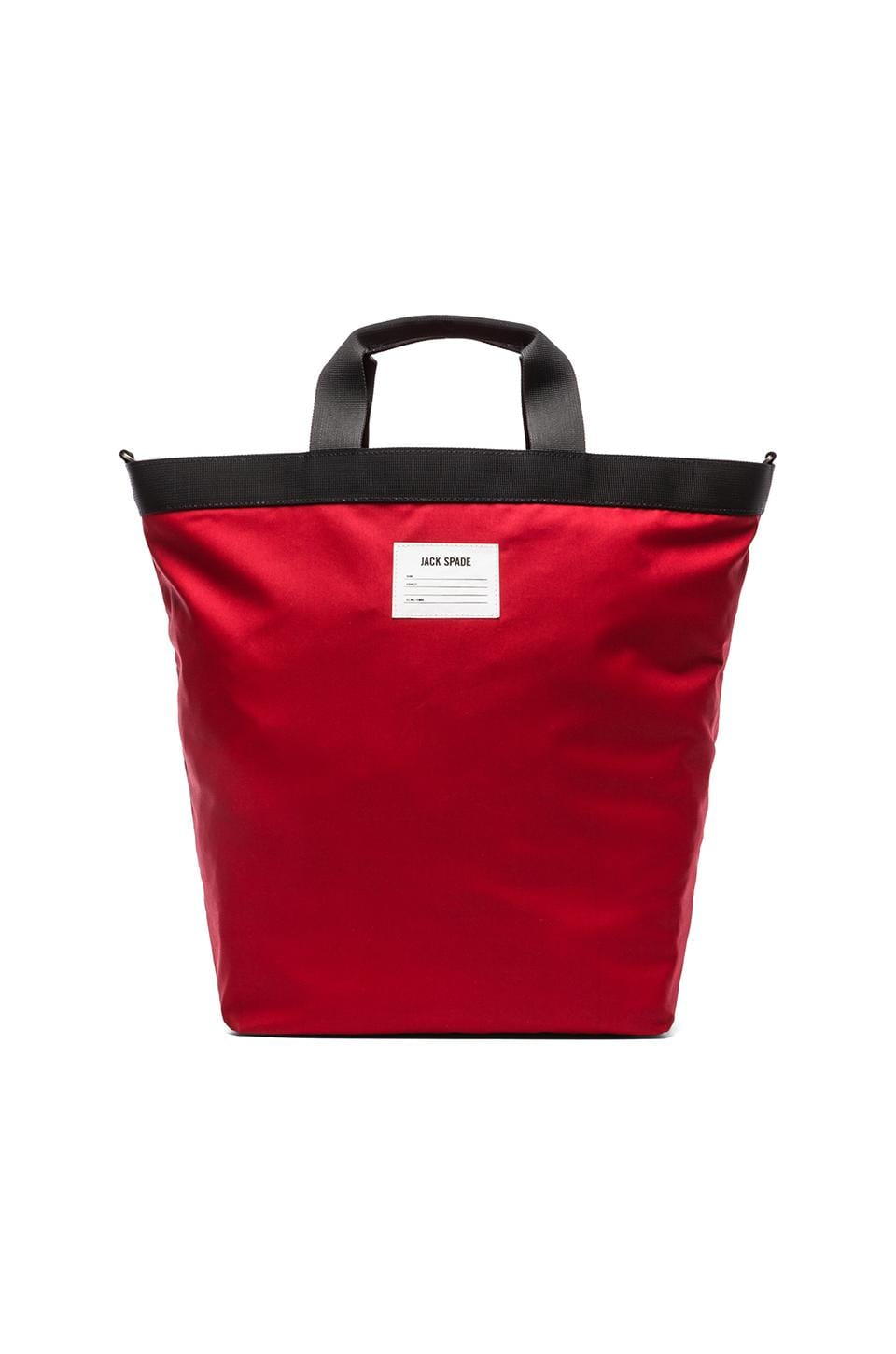 Jack Spade Apex Carrier Tote in Red