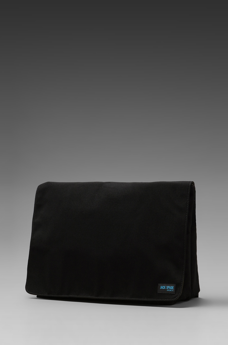 Jack Spade Nylon Canvas Computer Field Bag in Black