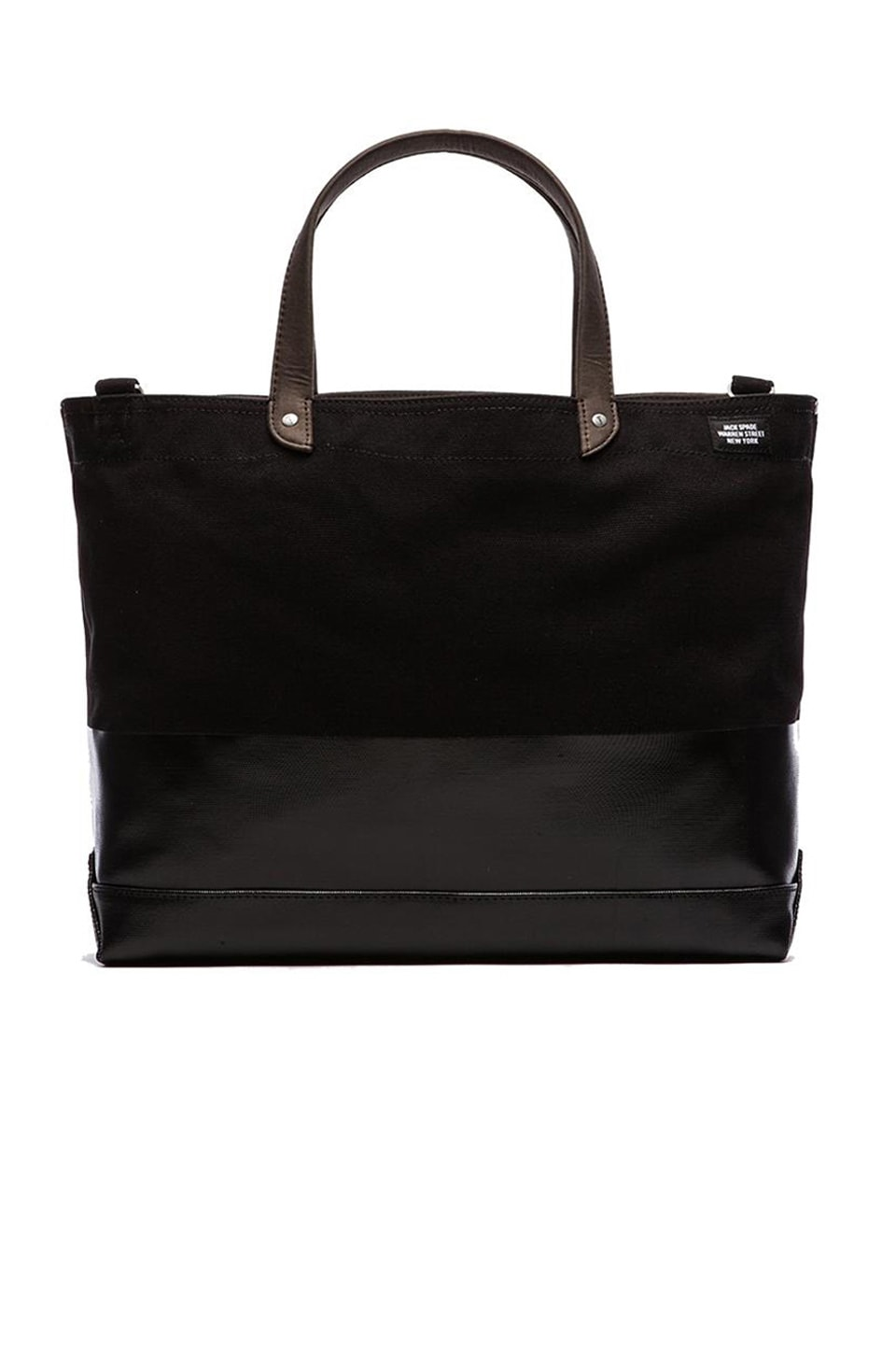 Jack Spade Dipped Coal Bag in Black/Black