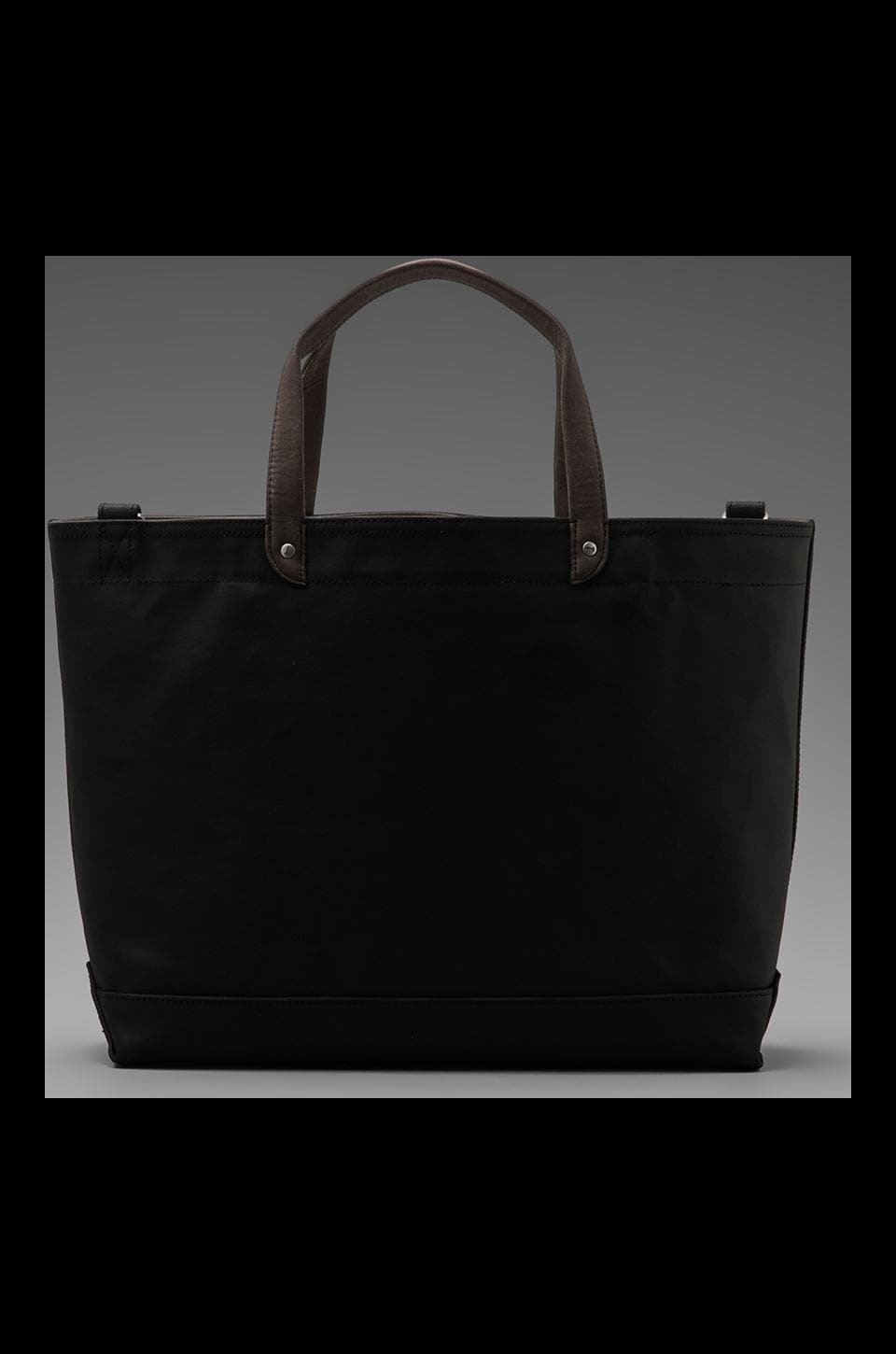 Jack Spade Blackboard Canvas Coal Bag in Charcoal