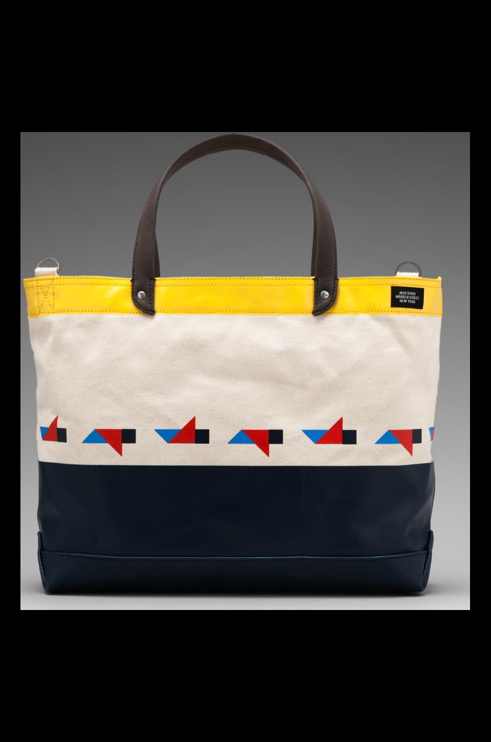 Jack Spade Tangram Coal Bag in Multi