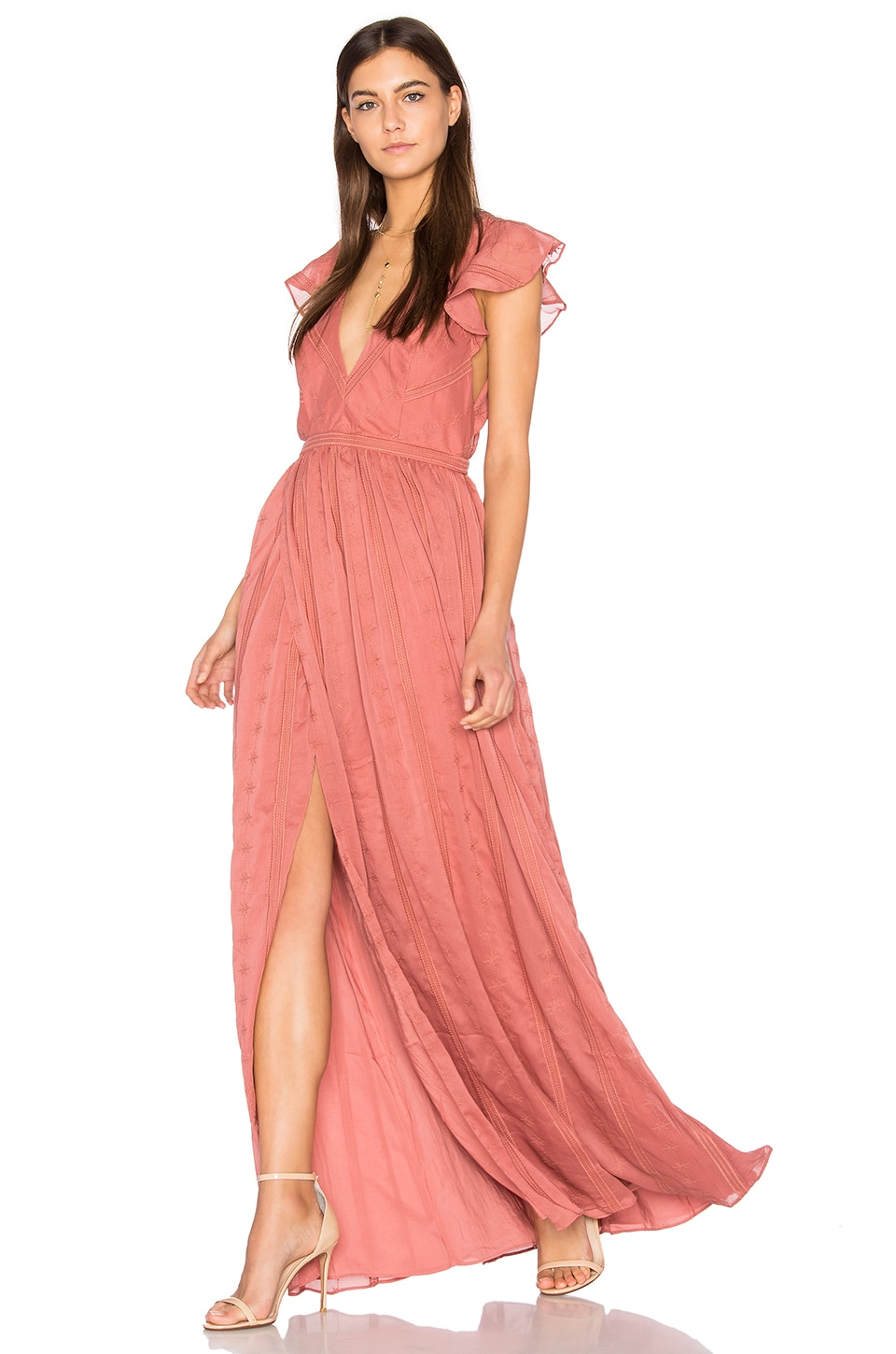 Getaway Maxi Dress by THE JETSET DIARIES