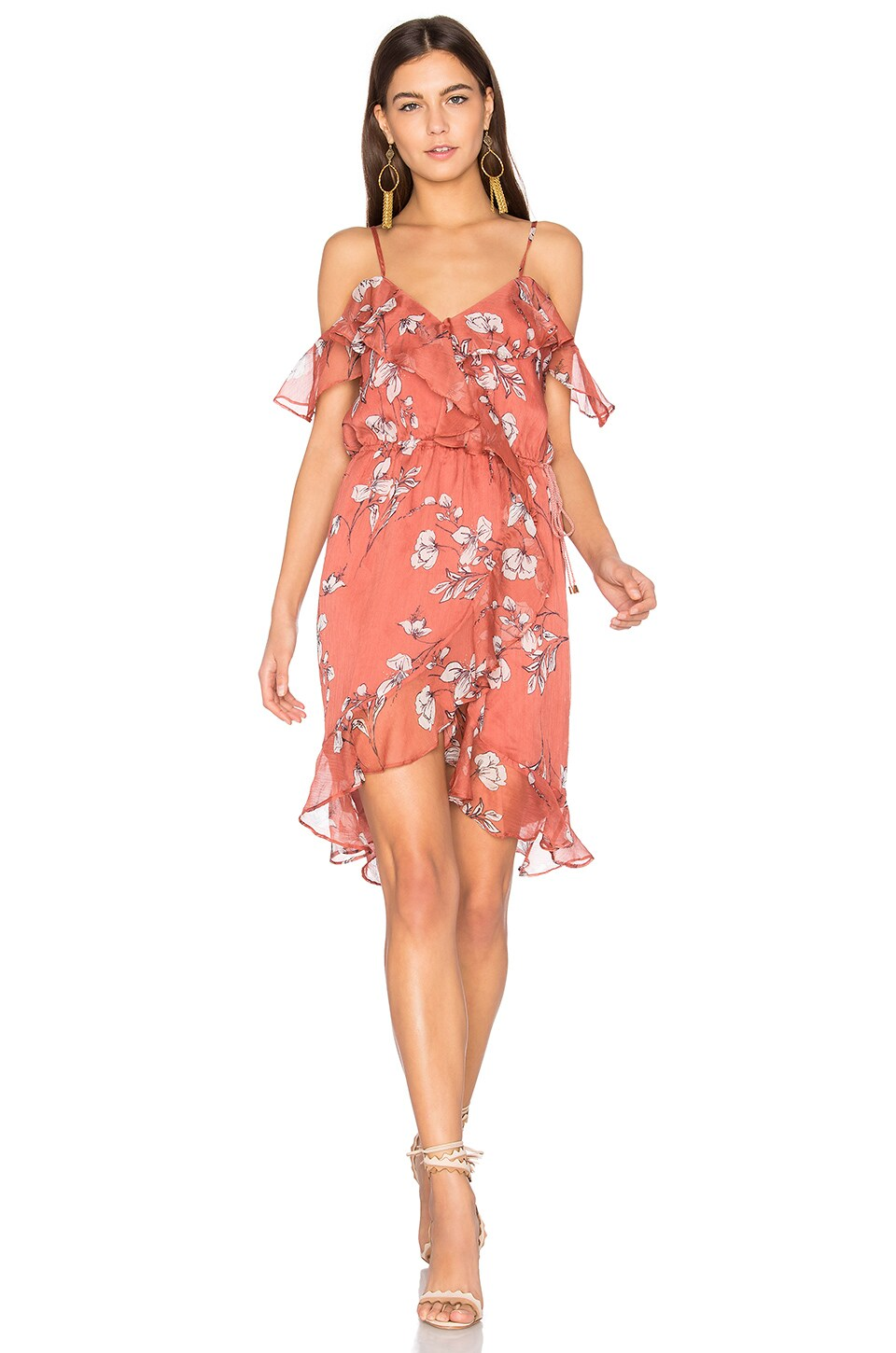 THE JETSET DIARIES Oasis Floral Mini Dress in Floral Print