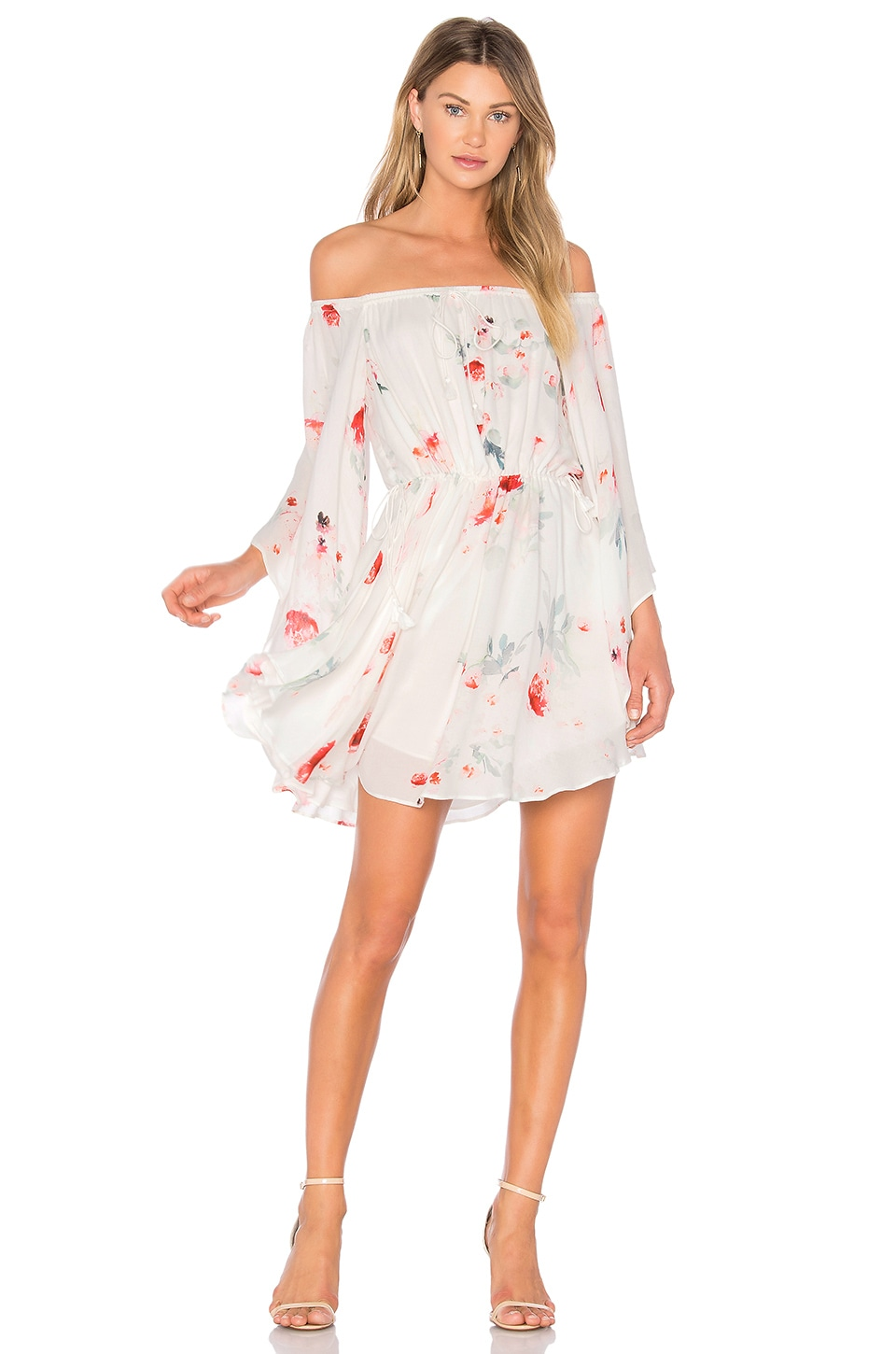 THE JETSET DIARIES Isabella Mini Dress in Isabella Floral Print