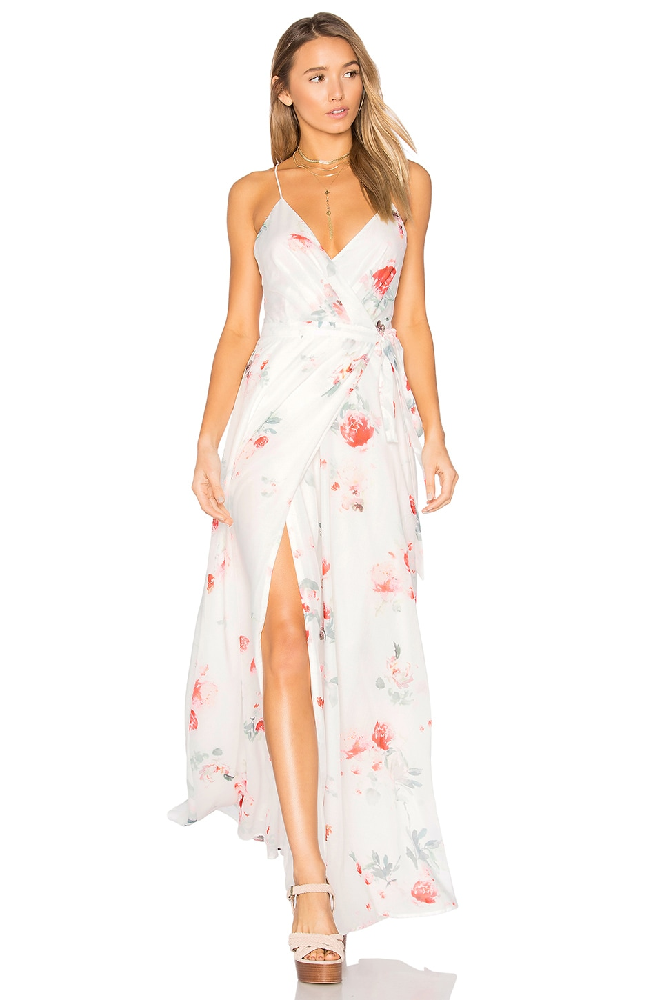 THE JETSET DIARIES Isabella Maxi Dress in Isabella Floral Print