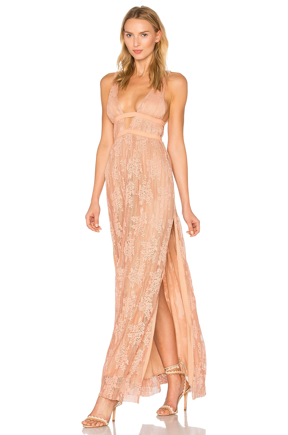 Gabrielle Maxi Dress by THE JETSET DIARIES