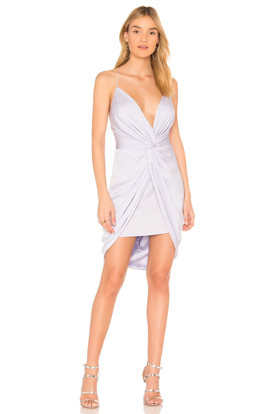THE JETSET DIARIES Opal Mini Dress in Lavender