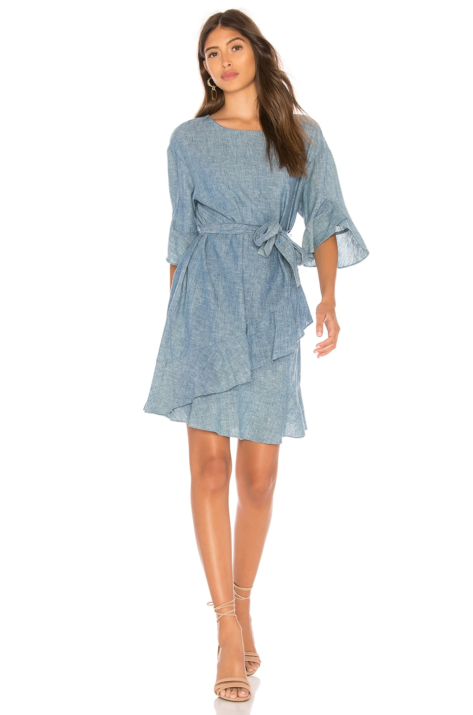 THE JETSET DIARIES Sloan Mini Dress in Denim