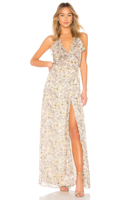 Frangapani Maxi Dress