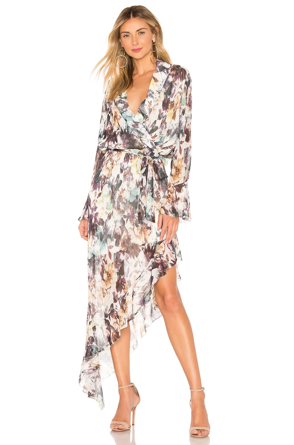 THE JETSET DIARIES Carnaby Maxi Dress in Abstract Print